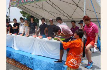 【新潟市】おいしい新潟のすいかが堪能できる、毎年大人気のイベント