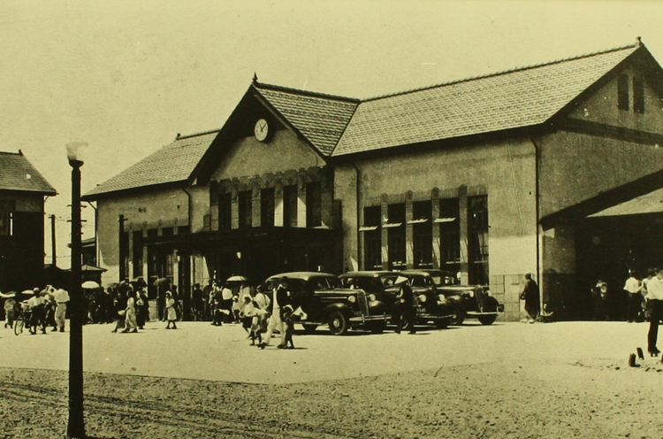2代目新津駅