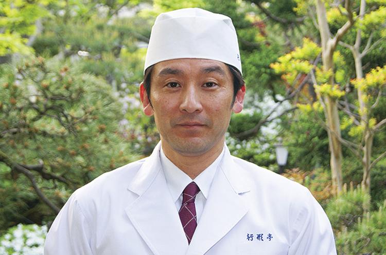 行形和滋氏(行形亭代表取締役)