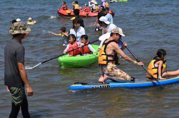 寺泊の夏のイベントといえばこれ! 寺泊の海で楽しく遊びながら交流しよう