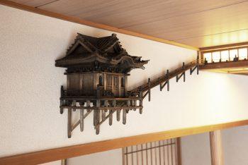 岩室温泉旅館「ゆもとや」に泊まりながら楽しめるアート作品が誕生しました!