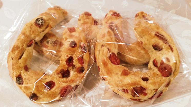 新潟市西区にあるパン屋さん「ナミテテ」の『ライム麦のひづめパン』