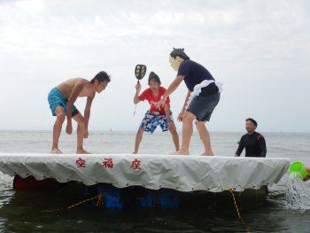 目指せ横綱! 海に浮かぶ土俵で、すもうを取ろうよ!