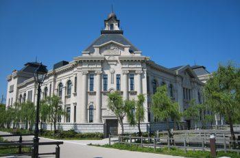 新潟市のウオーターフロントに位置する歴史博物館で、企画展『にいがた船と港の150年』を開催中