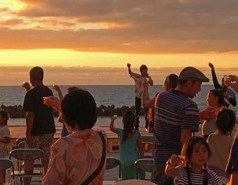 【村上市】瀬波温泉に美しい夕日を望みながら楽しいひとときを