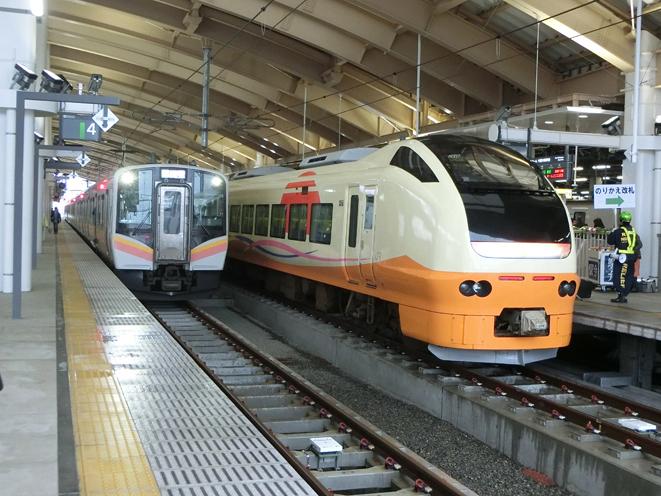 2018年4月 現在の新潟駅(沢野慎一氏撮影)