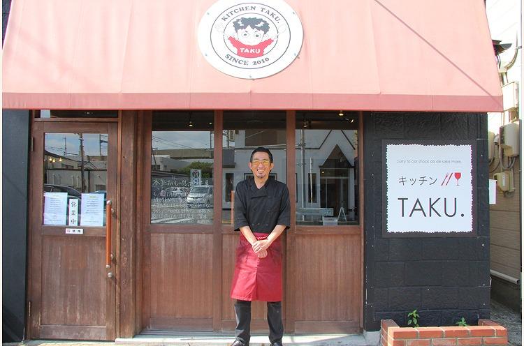 オーナーシェフの池場さん。お店の場所は新潟駅万代口より徒歩7分