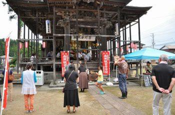 小千谷市のお寺で行なわれるイベント。出店、縁日、コンサート、ファイヤーショーなど催しが盛りだくさんです!