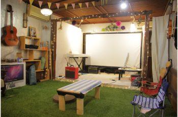 カフェ機能を備えた音楽制作スタジオ、長岡に誕生