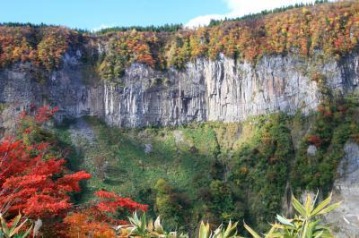 10月下旬には美しい紅葉を見ることができます!
