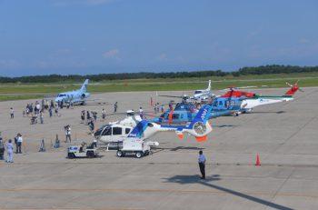 間近で航空機を観ることができる!  新潟空港に行こう!