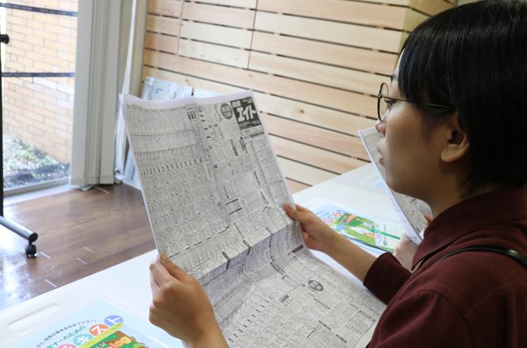 高崎さん、競馬新聞が似合いますなー