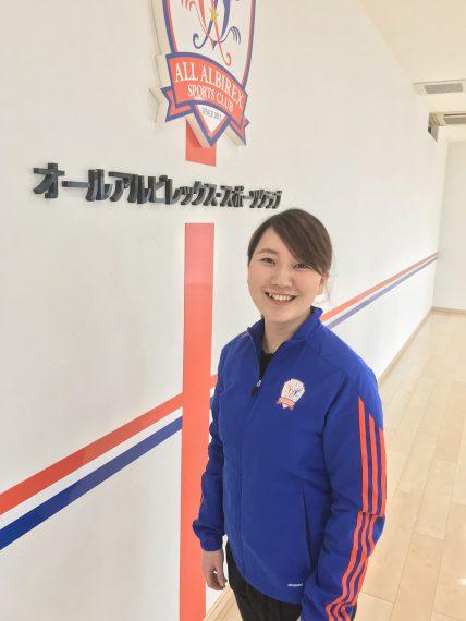 「指導プログラムには自信があります。ぜひ体験にお越しください」と インストラクターの池田 遥先生