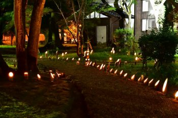 【関川村】古民家で開催される幻想的なコンサート