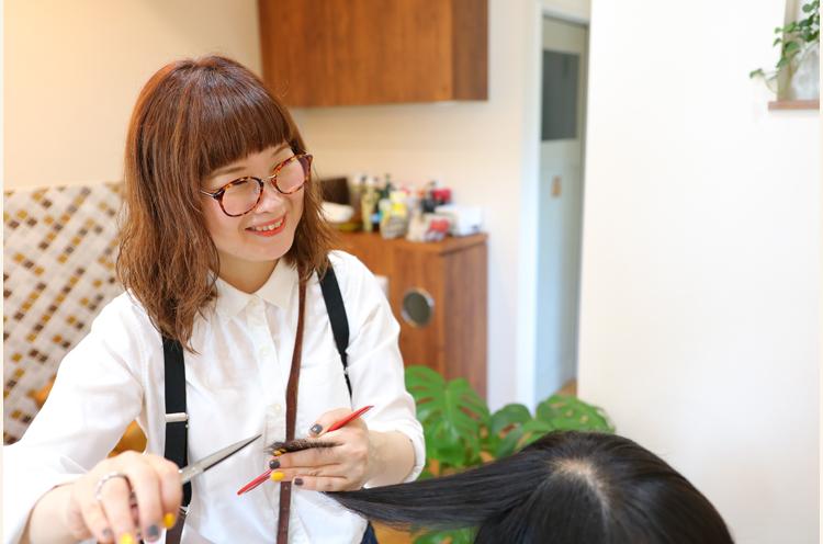 hair salon Waltzのオーナースタイリスト、髙橋 菜苗さん