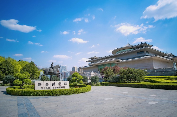 西安博物院外観(撮影:李文博)