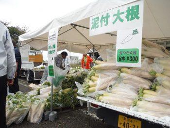 【新潟市】新潟市西区の秋の味覚満載の食イベント。メイワサンピア駐車場で開催