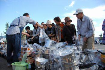 【燕市】鍋、フライパン、包丁などが大特価! 年に一度のビッグバザール開催