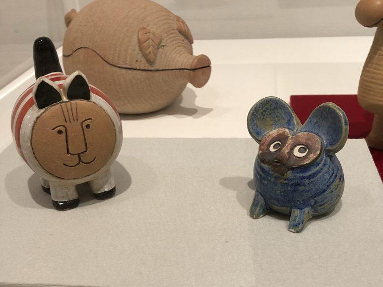 和太鼓のようなかわいい猫とユーモラスなネズミ。かわいいですね!