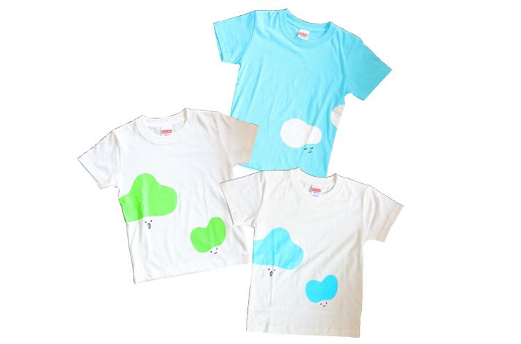 かわいい ロゴTシャツは 色が選べるよ!