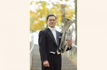 加茂市出身の演奏家・外山裕介による、ユーフォニアムの単独演奏会
