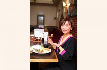 【アナクチコミ/FM PORT松村道子さん】洋食キッチンひまわり の『日替わり定食』は元気の源!