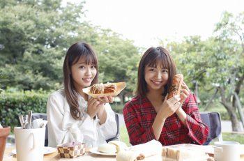 【動画】東京パフォーマンスドール浜崎香帆・橘二葉がパン・スイーツマルシェ販売パンを試食してきました