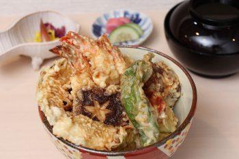 新潟の山海の幸や里の幸たっぷりな天ぷらの専門店