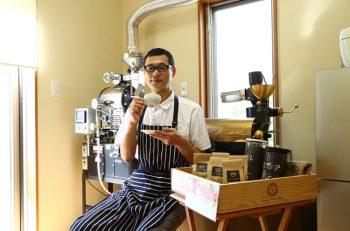 三条の人気ベーカリーで、社長自ら焙煎したコーヒーを販売