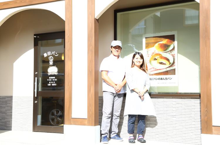 代表の菊池さん夫妻 は、昨年お店を引き継いだばかり