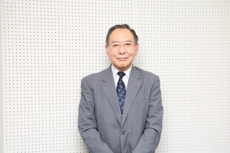 新潟市歯科医師会副会長 幾野 博さん。昭和28 年生まれ。歯科医師会では以前、介護保険を担当。口腔ケアの講演や施設での指導を行なってきた。