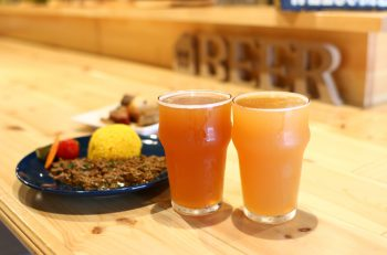 クラフトビールを提供する、サク飲みスタンドが古町に登場
