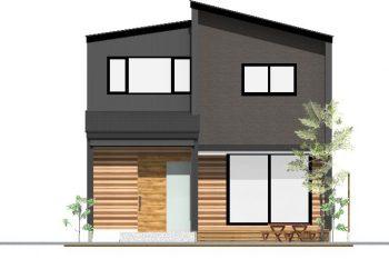 【完成見学会】黒と無垢の木を基調としたコーディネートの家(予約制)