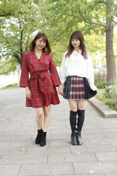 東京パフォーマンスドール 浜崎香帆(左)、橘 二葉 (右)
