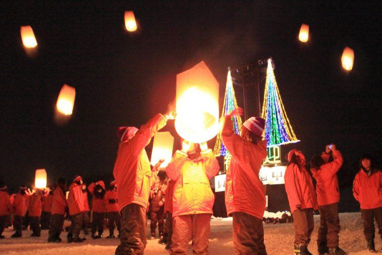 スカイランタンはタイや台湾のお祭りで無病息災を祈念して行われる儀式なんです!
