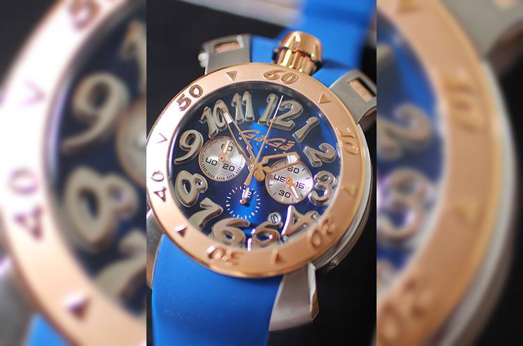 「GaGa MILANO」腕時計。183,600円