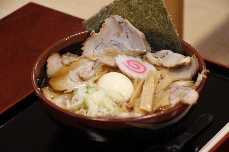 田上ポークのチャーシューメンが一番人気です