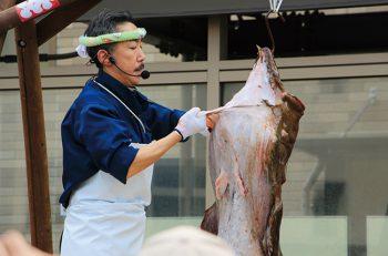 【糸魚川市】迫力満点のつるし切りは必見!!! 冬の味覚『アンコウ』を存分に楽しもう!