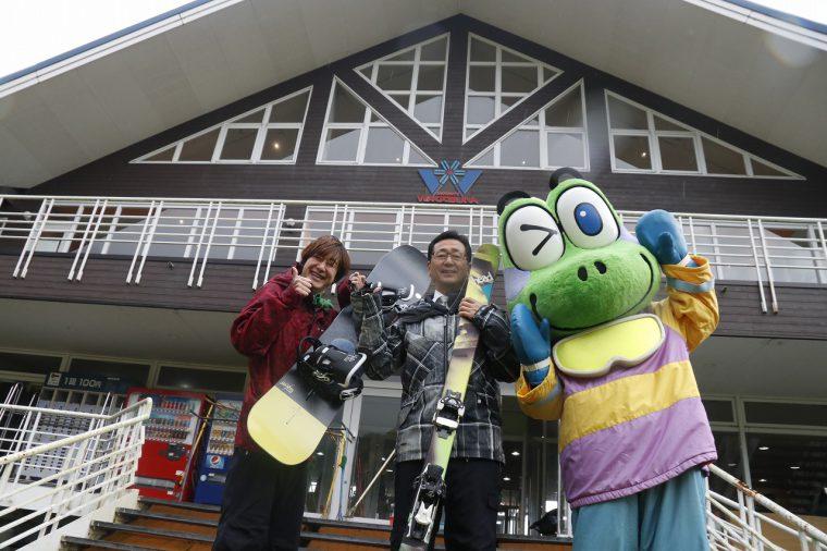 【詳しい記事はコチラから】わかぶな高原スキー場、 いっすねー!