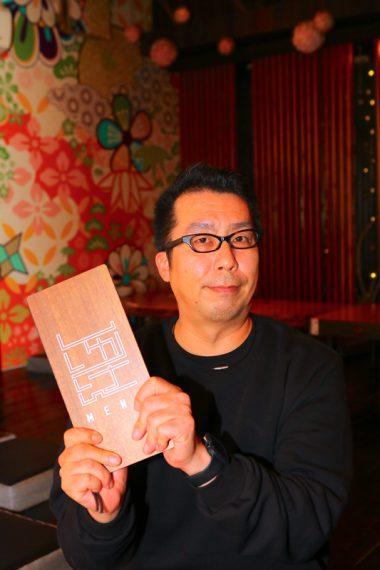 SURIKENをオススメしてくれたFOB企画新潟支社の市川裕章本部長。SURIKENに月2回の頻度で通う常連さんです♪