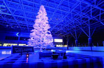 クリスマス・イヴの夜はアイスアリーナへ! クリスマスにちなんだ催し満載