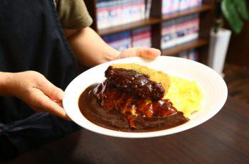 福井生まれの洋食「ボルガライス」って知ってる?|三条市南四日町