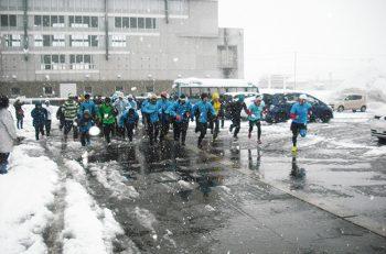 【魚沼市】魚沼市でお正月に開催される恒例のマラソン大会。