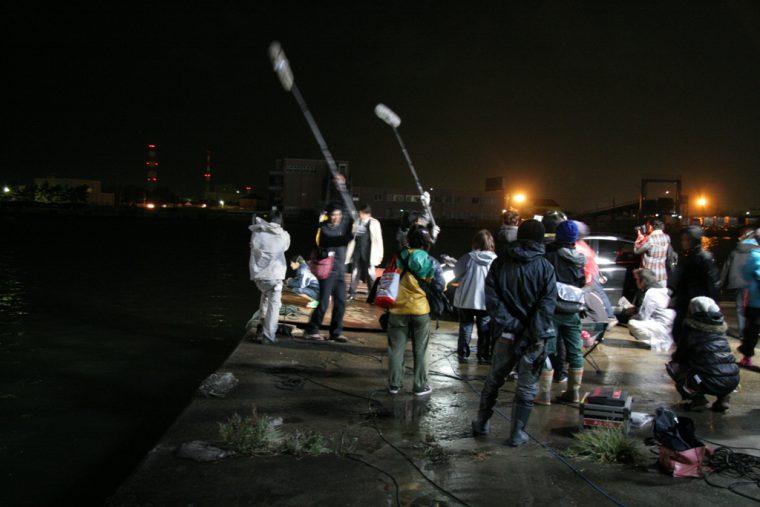 撮影クルーみんなの協力があって素晴らしい作品ができました