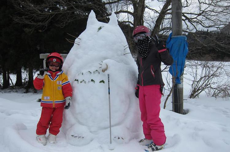 雪遊びも楽しい思い出