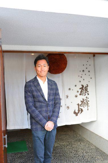 代表の齋藤俊太郎さん。現職には2006年に就任。1843年創業の麒麟山酒造の7代目代表として、地元米での酒造りに邁進