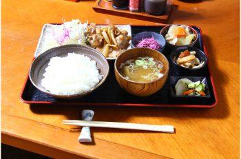 ボリューム満点のしょうが焼き定食でパワーチャージ! |新潟市秋葉区