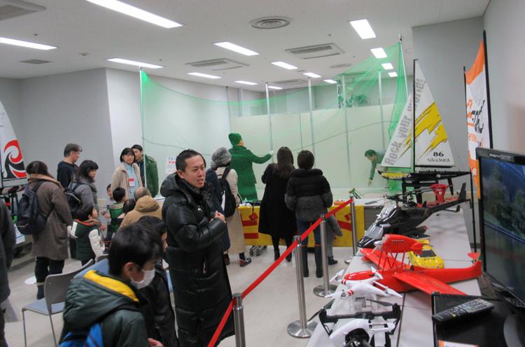 鉄道模型走行&ラジコン展示・実演。船、飛行機、車もあるよ!