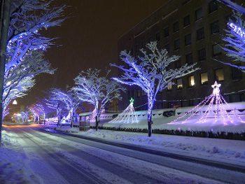 見附市の冬の風物詩