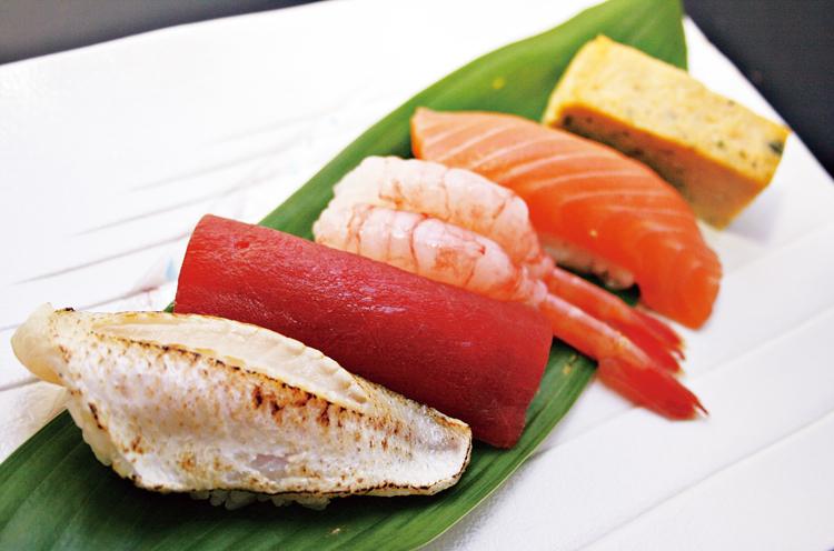 親父の握り寿司